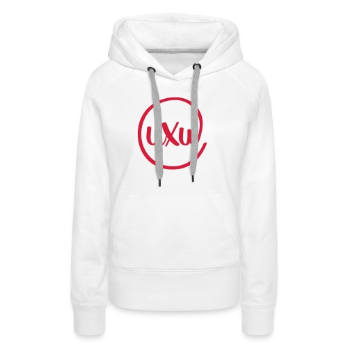 UXU logo round - Women's Premium Hoodie