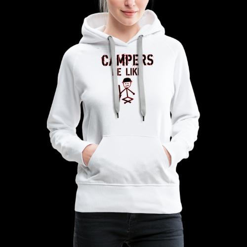 Camper Gaming - Frauen Premium Hoodie