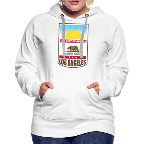 Los Angeles - California Republic - Women's Premium Hoodie