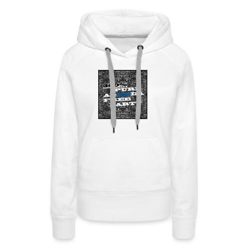 300% - Sweat-shirt à capuche Premium pour femmes