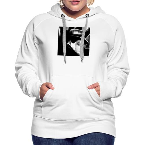 M, el vampiro - Sudadera con capucha premium para mujer