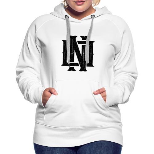 Nineone Monogram NO 01 black - Frauen Premium Hoodie
