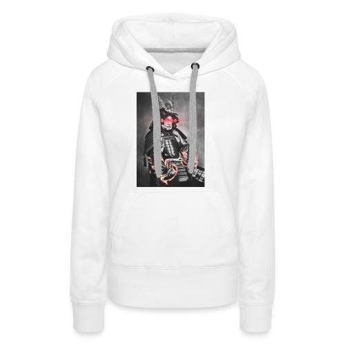 Laser Ninja Man - Frauen Premium Hoodie