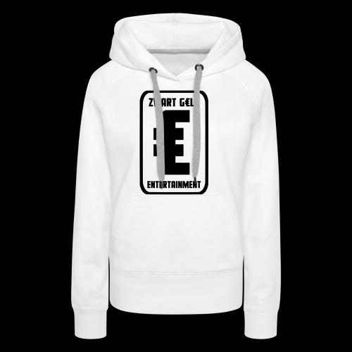 ZwartGeld Logo Sweater - Vrouwen Premium hoodie