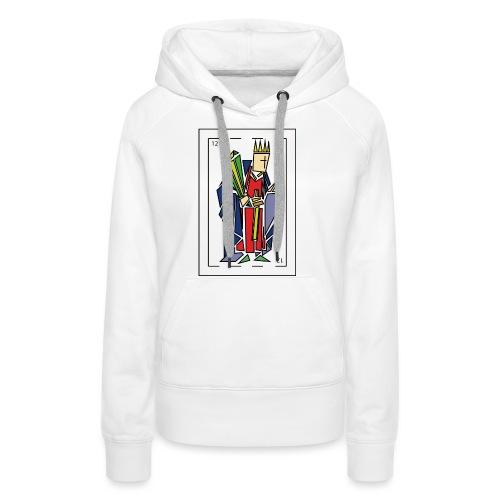rey_de_bastos - Sudadera con capucha premium para mujer