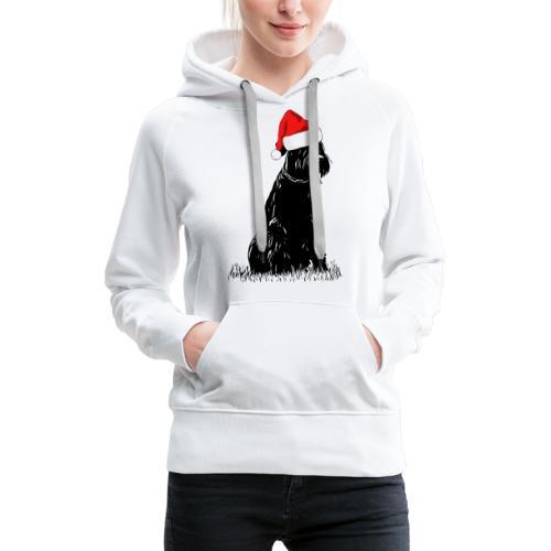 Riesenschnauzer Weihnachten Schnauzer Hund - Frauen Premium Hoodie