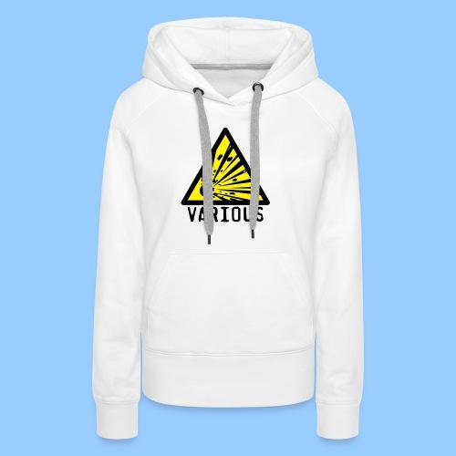 VariousExplosions Triangle (2 colour) - Women's Premium Hoodie