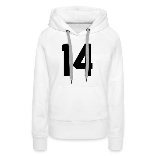 14 - Vrouwen Premium hoodie