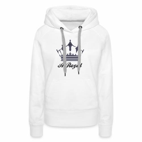 A-Royal - Felpa con cappuccio premium da donna
