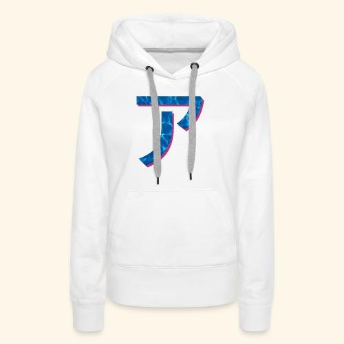 ア logo - Sweat-shirt à capuche Premium pour femmes