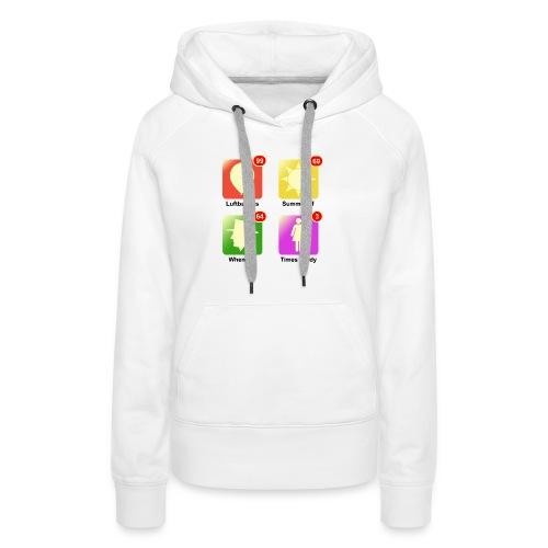 muziek apps - Vrouwen Premium hoodie