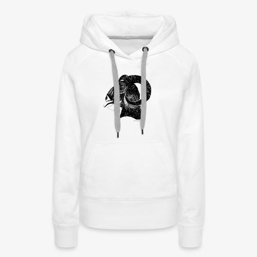 GoatHead - Frauen Premium Hoodie