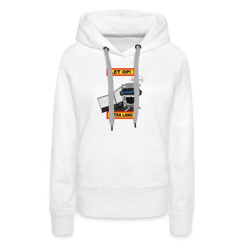 0850 extra lang - Vrouwen Premium hoodie