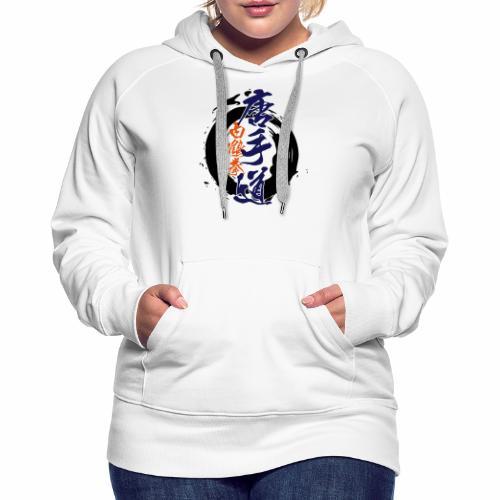 enso karatedo - Frauen Premium Hoodie