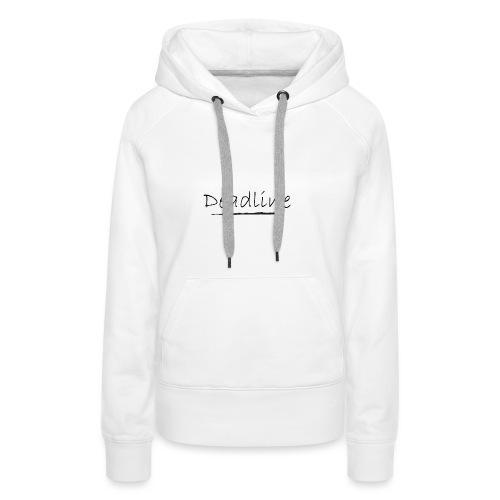 Deadline Rave - Frauen Premium Hoodie