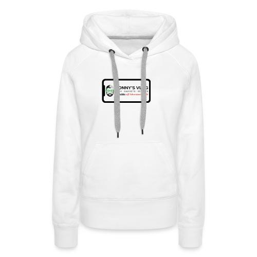 iPhone X by Ronny's Vlog - Frauen Premium Hoodie