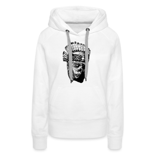 Indian Skull - Women's Premium Hoodie
