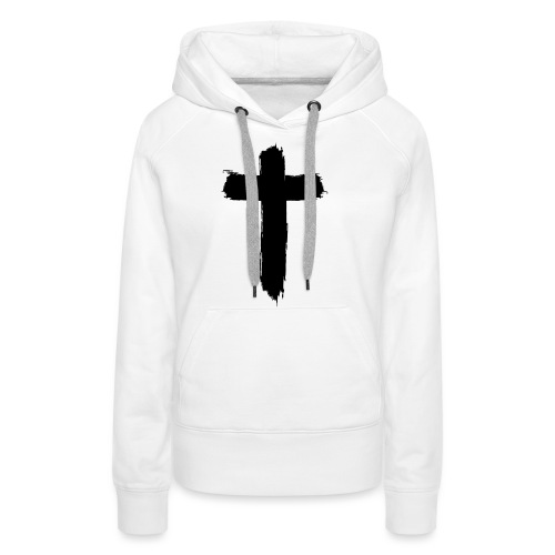 Brushed-Cross - Frauen Premium Hoodie