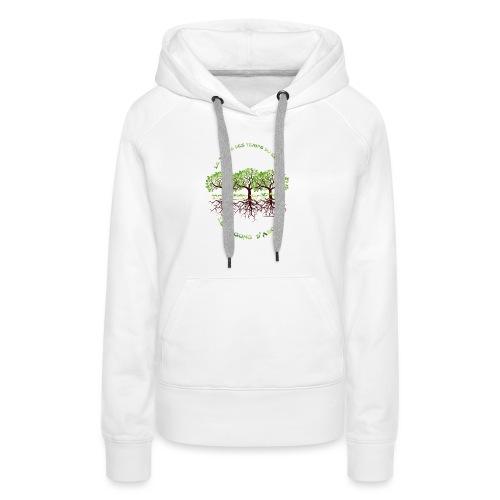 T-shirt les temps du corps, Lembrun 2016/Qi Gong - Sweat-shirt à capuche Premium pour femmes