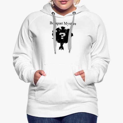 bouquet mystère - Sweat-shirt à capuche Premium pour femmes