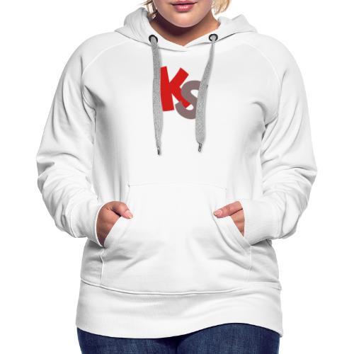 Logo Komik Studio KS - Sweat-shirt à capuche Premium pour femmes