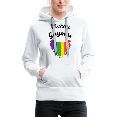 Merry Gaymas | Weihnachten | LGBT | Geschenkidee - Frauen Premium Hoodie