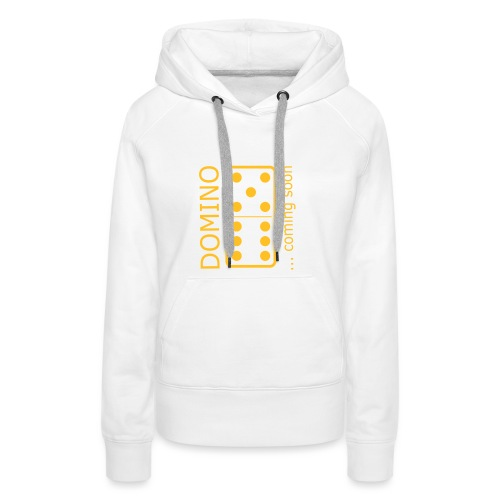 domino11 coming soon - Frauen Premium Hoodie