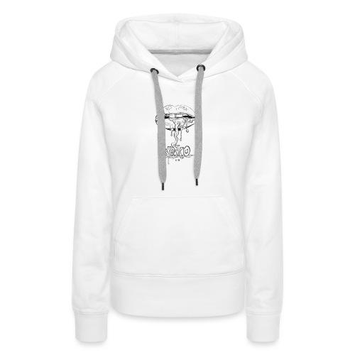 xoxo - Sweat-shirt à capuche Premium pour femmes