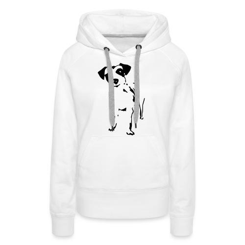 Jack Russell Terrier - Frauen Premium Hoodie