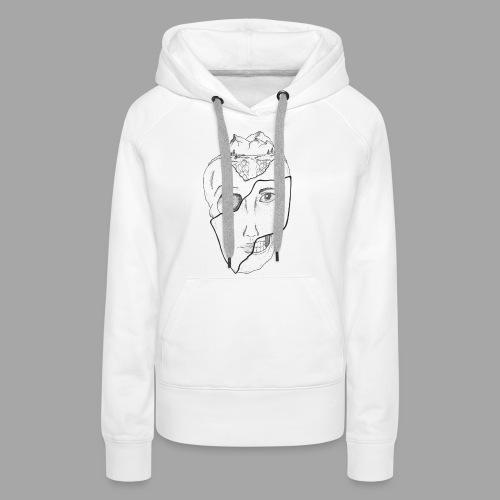 Voyageur Immobile - La valse à mille points - Sweat-shirt à capuche Premium pour femmes