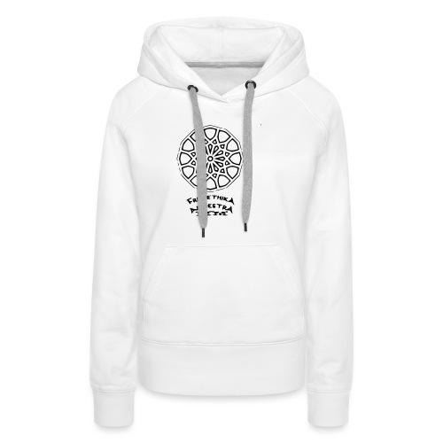 Zellige - Sweat-shirt à capuche Premium pour femmes