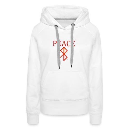 PeaceFire - Frauen Premium Hoodie