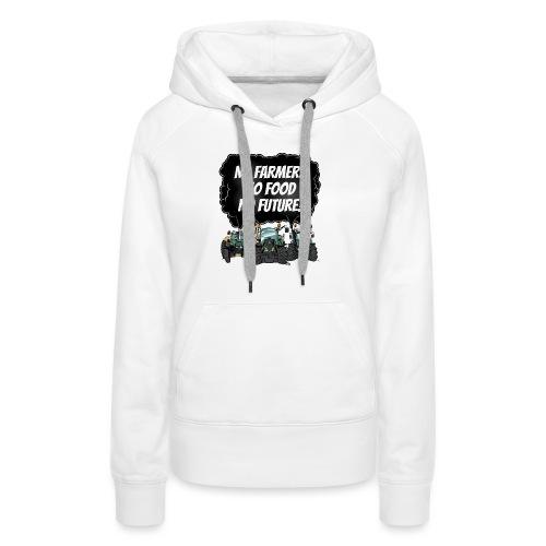 food tshirt F - Vrouwen Premium hoodie