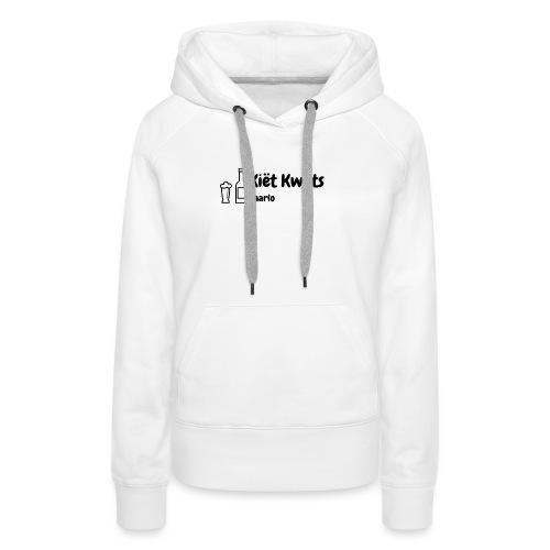 kietlogo_zwart - Vrouwen Premium hoodie