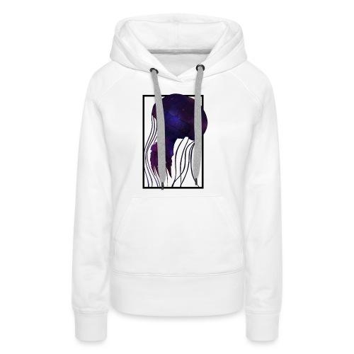 Cosmic Wave - Frauen Premium Hoodie