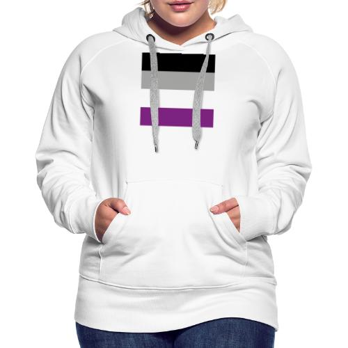 Asexuell Flagge - Frauen Premium Hoodie