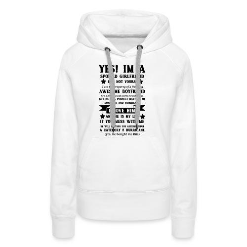 Awesome Girlfriend - Women's Premium Hoodie