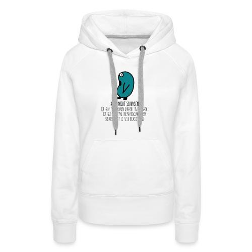Rucksack.gif - Frauen Premium Hoodie