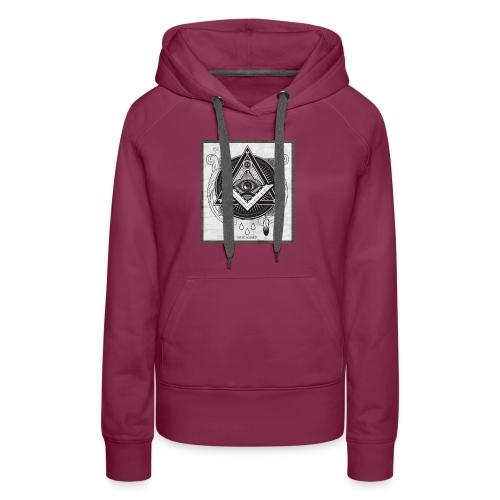 Illuminati - Sweat-shirt à capuche Premium pour femmes