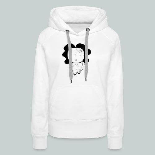 Curious girl - Women's Premium Hoodie