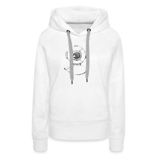 nautic eye - Vrouwen Premium hoodie