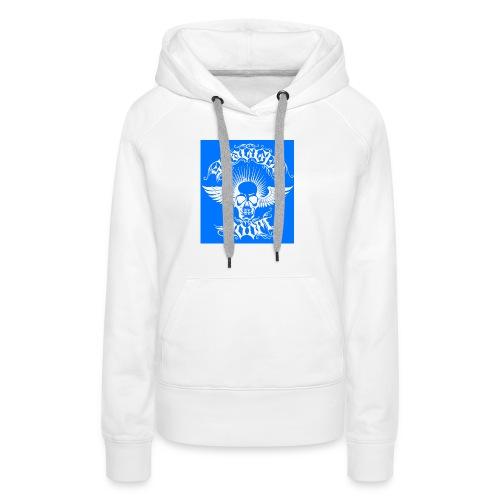 Swagger & Doom Blue/ White 1.0 - Women's Premium Hoodie