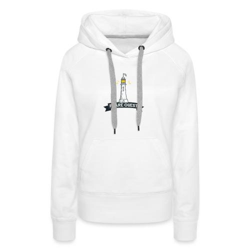 Phare ouest - Sweat-shirt à capuche Premium pour femmes