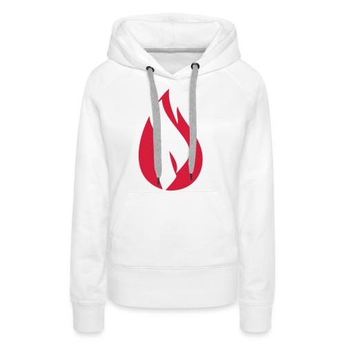 Pyro Logo - Einfarbig - Frauen Premium Hoodie