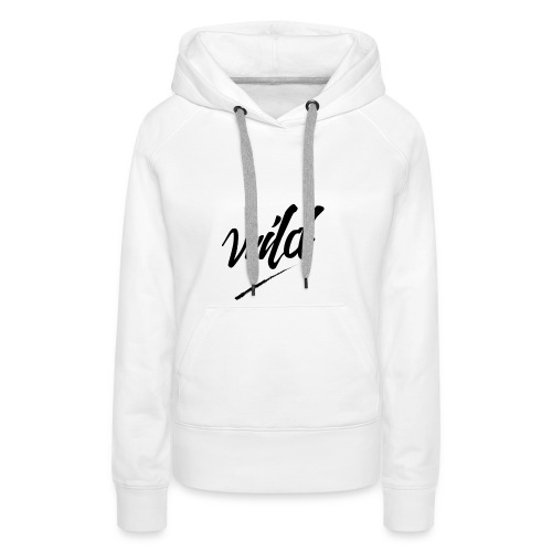 WildClothing - Sweat-shirt à capuche Premium pour femmes