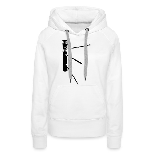 Weapon Dummy Black - Frauen Premium Hoodie