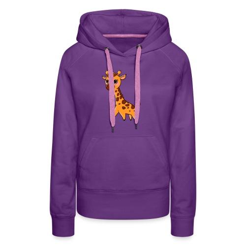 Mini Giraffe - Women's Premium Hoodie