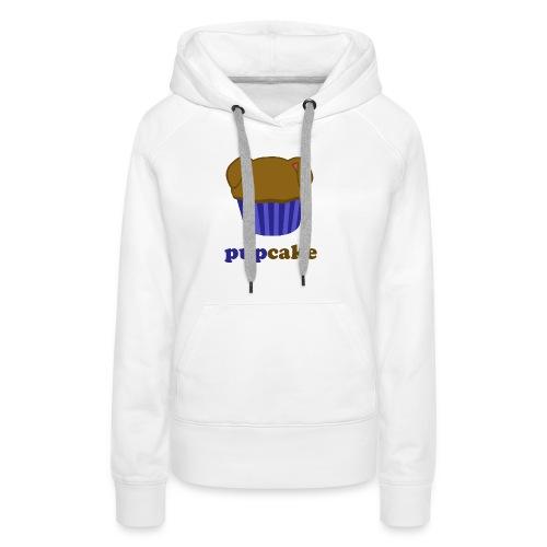 pupcake blauw - Vrouwen Premium hoodie