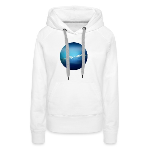 The sky is the limit - Frauen Premium Hoodie