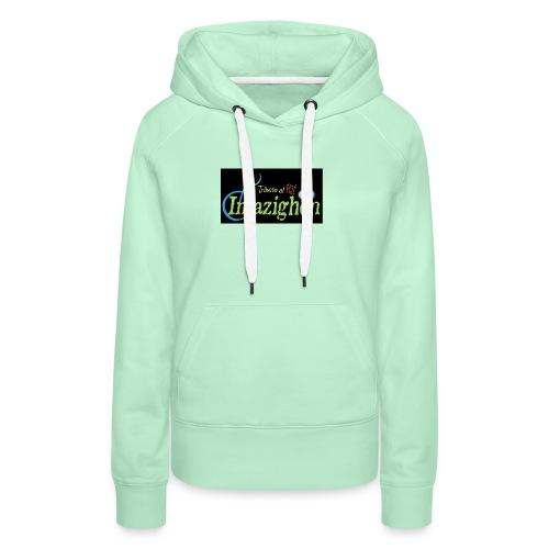 Imazighen ithran rif - Vrouwen Premium hoodie